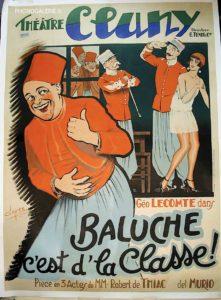 Theatre Clunny, Baliche c'est d'la classe, G. tenon et Cie, piece en 3 actes