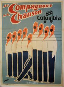 Compagnon, de , la , chanson, Columbia, disque, Ch. Kiffer, Girbal