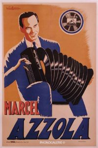 Affiche Marcel Azzola
