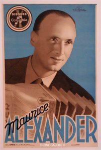 Maurice Alexander, Girbal, Firmin, Columbia