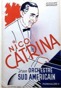 Nico Catrina, Amérique du sud, orchestre, AMerician, Versailles, Disque, Harfort