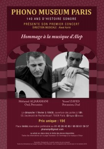 Hommage à la musique d'Alep